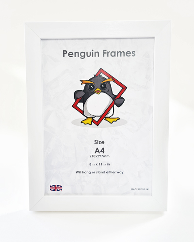 White 28mm polymer Penguin Frame