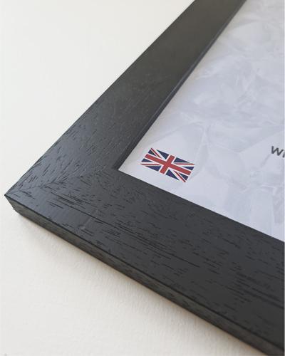 Textured Black Penguin Frame