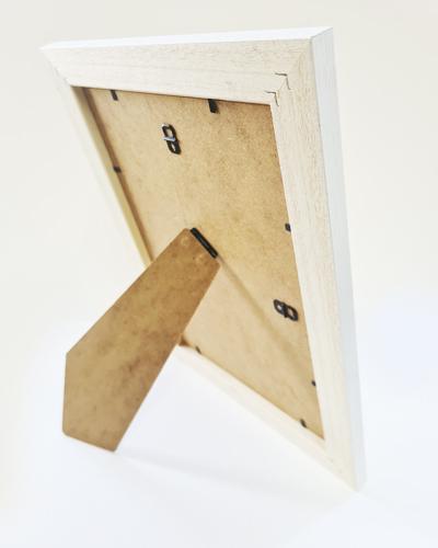 Textured white Penguin Frame