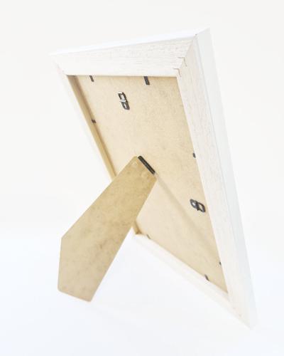 White wood Penguin Frame
